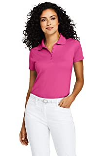 aad5be34 Eddie Bauer Ladies Cotton Pique Polo at Amazon Women's Clothing store: