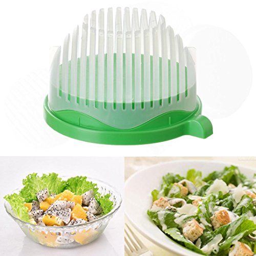 Salad Maker In Seconds, Oksale 60 Second Salad Cutter Bow...