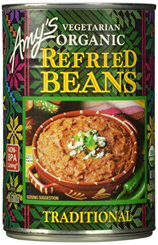 Amys Kitchen Low Fat - Amy's Organic Refried Beans, Traditional, 15.4 Ounce (Pack of 12)
