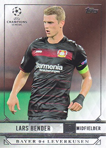 fan products of 2016-17 Topps UEFA Champions League Showcase Soccer #13 Lars Bender Bayer 04 Leverkusen