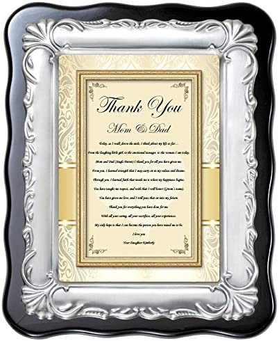 Thank You Gift for Mom Mother of the Bride Gift From Daughter Parents of Bride Wedding Gift for Father of the Bride Today a Bride