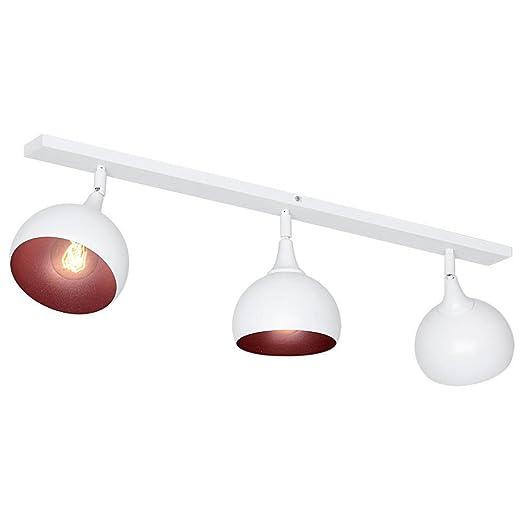 Lámpara de techo de luz de techo de Bauhaus con giro de foco ...