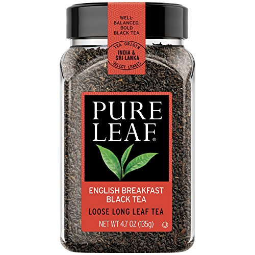 Pure Leaf Hot Loose Tea, English Breakfast Black Tea 4.7 oz