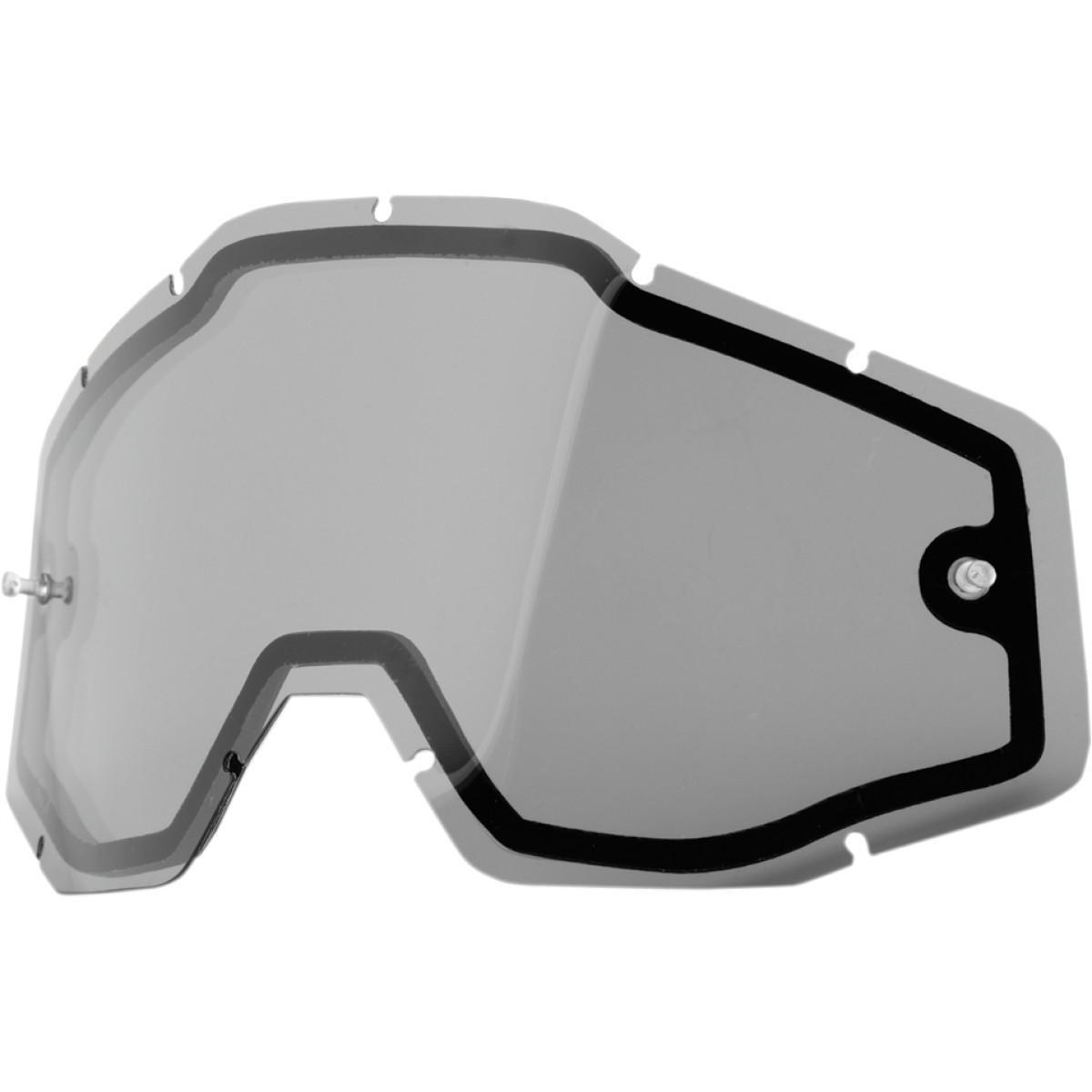 100% Racecraft/Accuri/Strata Replacement Dual Lens (UNISEX)