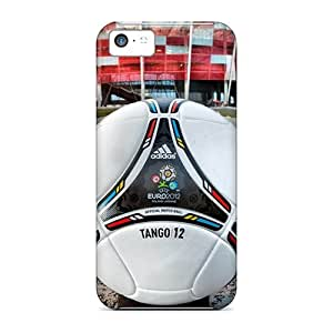 Iphone Case - Tpu Case Protective For Iphone 5c- Euro 2012 Warsaw Poland by lolosakes