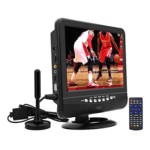 9Inch Portable TV for ATSC Digital TV Viewing in The