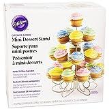 Wilton 307-250 Cupcakes-n-More 24-Count 4-Tier Mini Dessert Stand