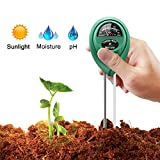 Kyпить Marge Plus Soil Moisture Meter, 3 in 1 Soil Test Kit Gardening Tools for PH, Light & Moisture, Plant Tester for Home, Farm, Lawn, Indoor & Outdoor (No Battery Needed) на Amazon.com