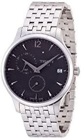Tissot Men's Tradition Silver/Anthracite Stainless Steel Watch
