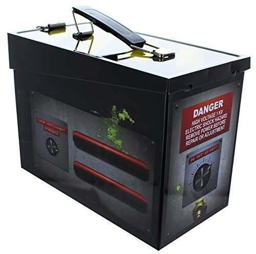 Ghostbusters Ghost Trap Tin Lunch Box by