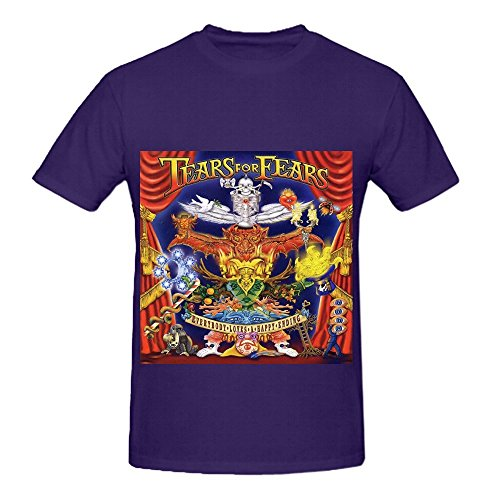 Tears For Fears Everybody Loves A Happy Ending Roll Mens O Neck Cool Tee Shirts Purple