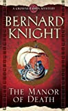 Front cover for the book The Manor of Death by Bernard Knight