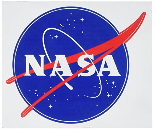 American Vinyl Round NASA Seal (Meatball Logo) Sticker (Insignia Decal)