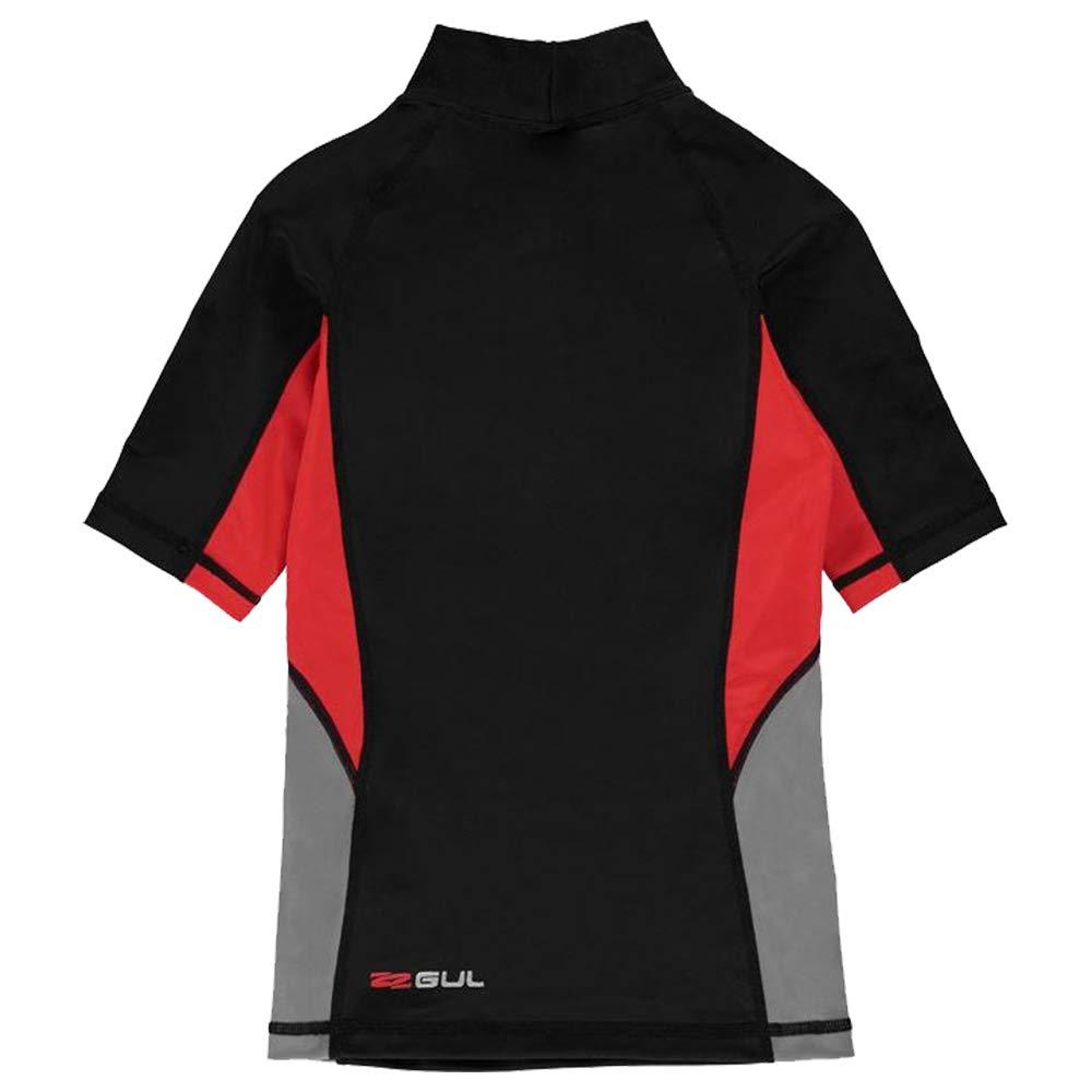 Gul/ Boys Rash Vest Short Sleeves Age 7-13