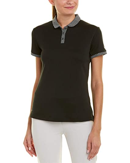 6ee0334e Amazon.com : NIKE Dri Fit 3 Button Placket Shortsleeve Textured Golf ...