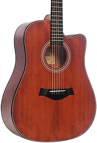 GFEI Folk caja electrica chapa de madera para Guitarra/Guitar ...