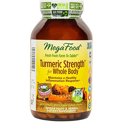 MegaFood Turmeric Strength Supports Healthy product image