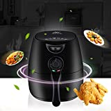 YOUDirect Air Fryer - Multi Function Electric Hot Style New Kitchen Appliance Oil Less Air Best Fryer, Removable Non-stick Drawer & Basket, Healthy Way to Enjoy Food