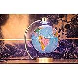 E-Plaza 8-Pouce Innovante Rétro Aimanté Lévitation Flottant Globe pour Accueil Bureau Décoration (Bleu)