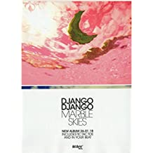Django Django - Marble Skies New Album 2018 Mini Poster - 40.5x30.5cm