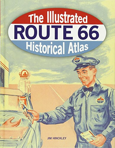 The Illustrated Route 66 Historical Atlas and RV camping road trip ideas with unusual roadside attractions