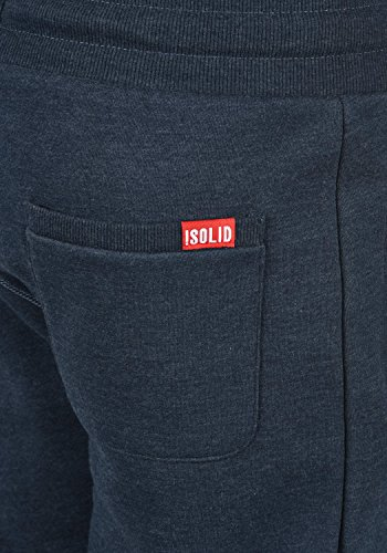 Bennpant Polaire Jogging Insignia solid Sport Melange Pour Pantalon De Blue Doublure 8991 Survêtement Homme dxUz1x