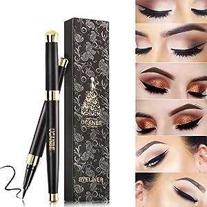 Ucanbe Waterproof Liquid Eye Liner Pen Long Lasting Eyeliner, Black, 0.035 fl. Oz.
