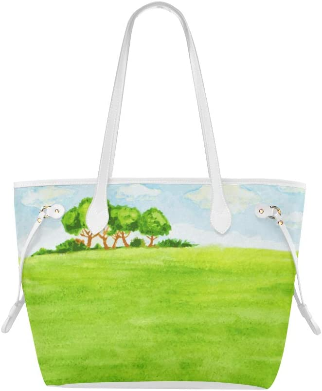 Handbag Bags Attractive Beauty Landscape Painting Cool Shoulder Bag Womans Tote Bags Large Capacity Water Resistant with Durable Handle