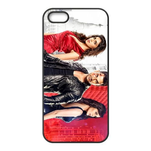 Bhaag Johnny Poster coque iPhone 4 4S cellulaire cas coque de téléphone cas téléphone cellulaire noir couvercle EEEXLKNBC23567
