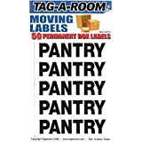 Tag-A-Room Box Content Moving Label (Pantry)
