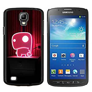 YiPhone /// Prima de resorte delgada de la cubierta del caso de Shell Armor - Naturaleza Hermosa Forrest Verde 171 - Samsung Galaxy S4 Active i9295