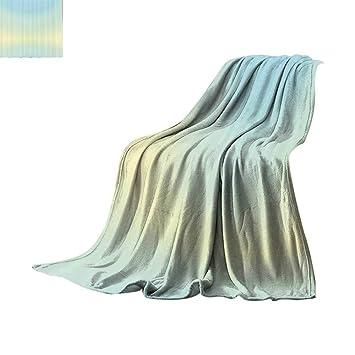 Amazon.com: Manta ligera de color azul celeste, diseño ...