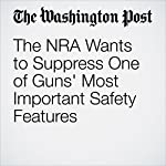 The NRA Wants to Suppress One of Guns' Most Important Safety Features | Robert J. Spitzer