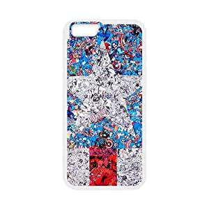"""HXYHTY Cover Shell Phone Case Captain America For iPhone 6 Plus (5.5"""")"""