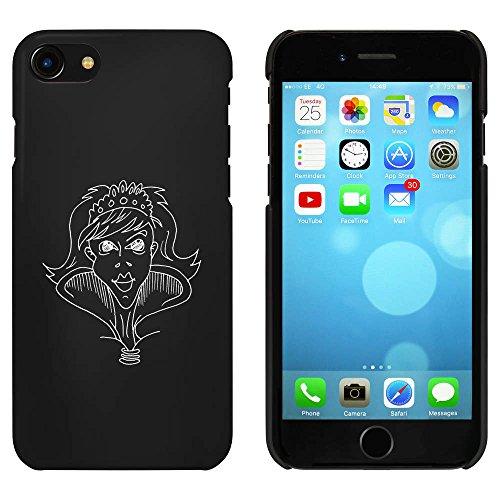 Noir 'Princesse' étui / housse pour iPhone 7 (MC00063253)
