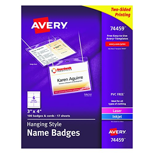 Neck Style Name Badges - 2