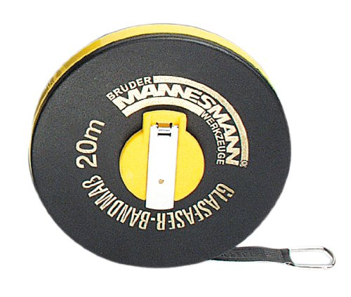Mannesmann Bandmass 20 m, Fiberglas, M  807-20