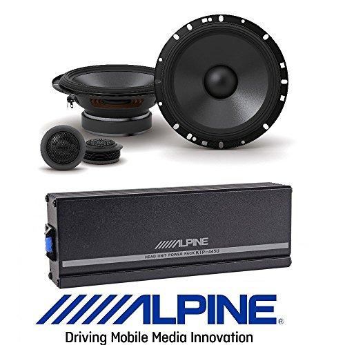 Alpine KTP-445A 4-Channel Head Unit Power Pack Amplifier Cla
