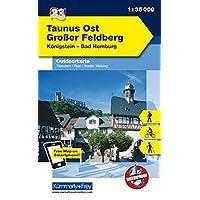 Deutschland Outdoorkarte 33 Taunus Ost, Großer Feldberg 1 : 35.000: Königstein - Bad Homburg (Kümmerly+Frey Outdoorkarten Deutschland)