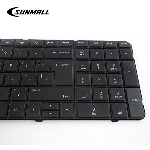 New US Black Laptop Keyboard for HP Pavilion g7-1219wm g7-1222nr g7-1227nr g7-1237dx g7-1255dx g7-1257dx g7-1260ca g7-1260us g7-1261nr g7-1263ca g7-1263nr g7-1264nr g7-1265nr g7-1269nr g7-1270ca g7-1272nr g7-1273nr g7-1277dx g7-1279dx g7-1281nr