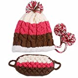 Colorful Winter Warm Ear Hat Thick Beanies Knitted Ski Hat Skateboard Hat Mask