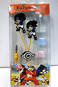 Anime Naruto Ear-phone Uchiha Sasuke Earphone Headphone In-ear