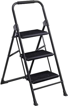 HYYDP Escalera Familiar Escalera mecánica Escalera Plegable hogar pequeña Escalera Escalera de Engrosamiento, rodamiento 200 kg (Size : 78 * 47 * 71.5cm): Amazon.es: Hogar