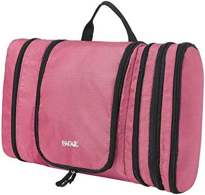Bagail Flat Toiletry Kit, Cosmetic Organizer Bag for Travel Accessories