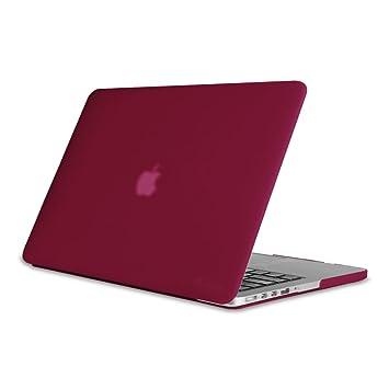 Fintie Funda para MacBook Pro 13 Retina - Súper Delgada Carcasa Recubierto de Goma Protector de Plástico Duro para Apple MacBook Pro 13.3