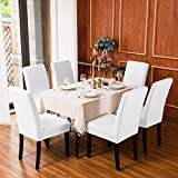 subrtex Dining Room Slipcovers Sets Stretch