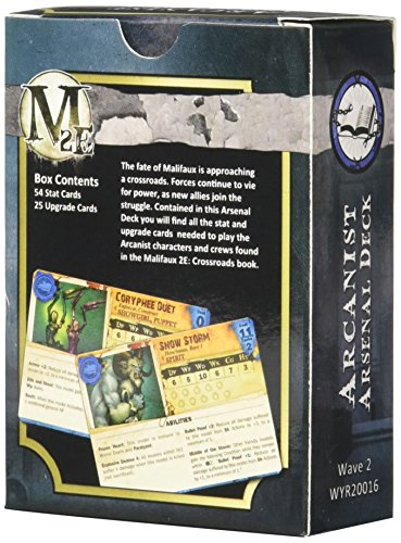 Wyrd Miniatures Malifaux Arsenal Deck Arcanists Wave Model Kit (2 Pack) 4