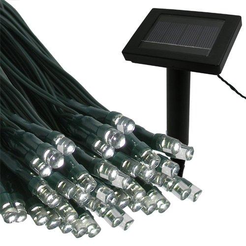 Flipo Solar 100 LED String Light, Warm White ()