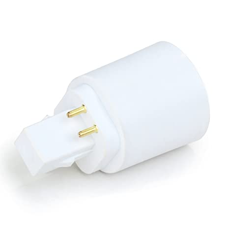 GX24 a E27 adaptador Conversor para bombillas LED bombilla LED