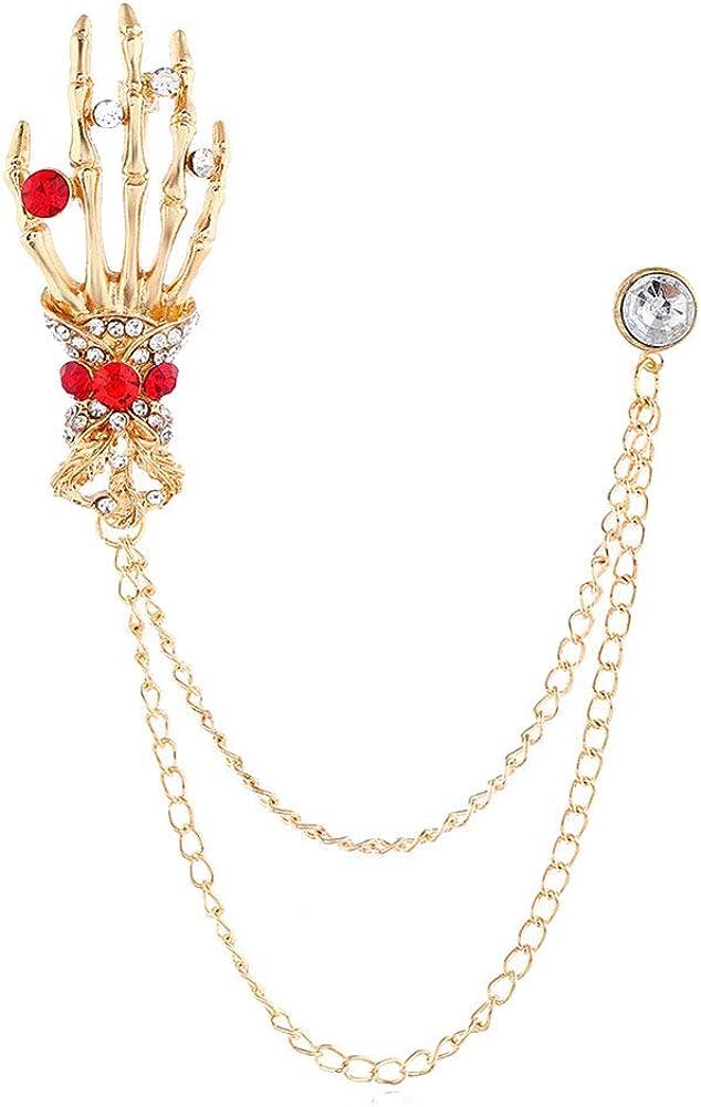 Lullabb Vintage Fashion Brooch Pin Halloween Thanksgiving Jewelry Gift